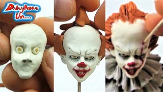 Como hacer Escultura de IT -  ESO con Plastilina | IT Pennywise Clay Tutorial DIY. DibujAme Un