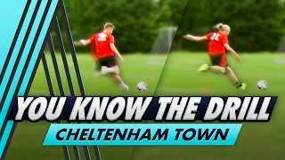 10 Shot Shooting Drill | You Know The Drill - Cheltenham Town with Kyle Storer