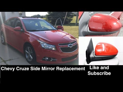 Chevrolet Cruze Driver Passenger Side Mirror Replacement Removal Youtube