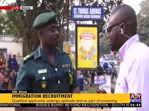 Immigration Recruitment - AM Show on JoyNews (5-1-18)