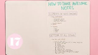 Note Taking Hacks & Tips | Plan With Me