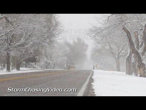 12/27/2014 Oklahoma City OK Morning Snow B-roll