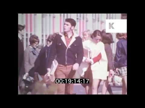 1960s New Jersey Aerials, Street Scenes, Schools, Buildings, USA