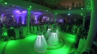 """Шоу - балет Jazz Band в весільному залі """"Імперія"""" танець Магія світла"""