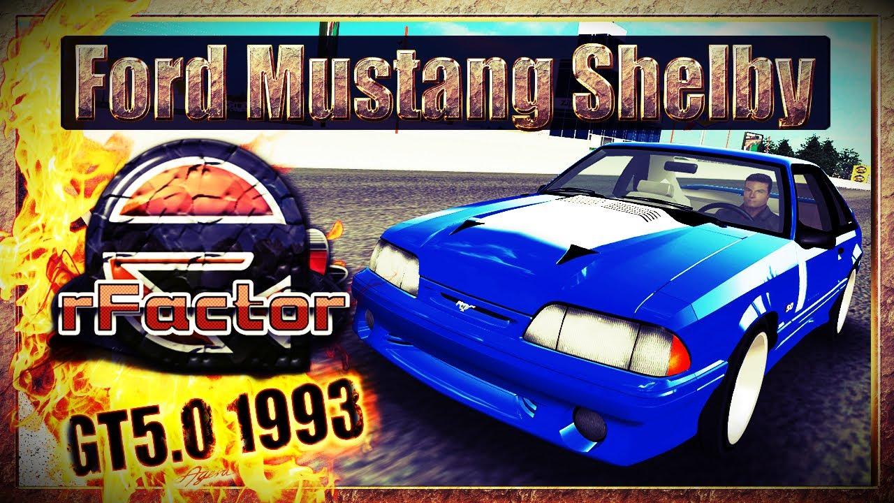 Ford Mustang Shelby GT 5 0 1993 - Watkins Glen GP [rFactor] [WQHD]