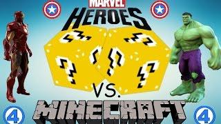 מיינקראפט- Lucky Block Challenge- גיבורי על!