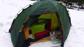 ソロキャンプを楽しもう。 雪上野宿 ③ Snow on Camp Hilberg Seoul