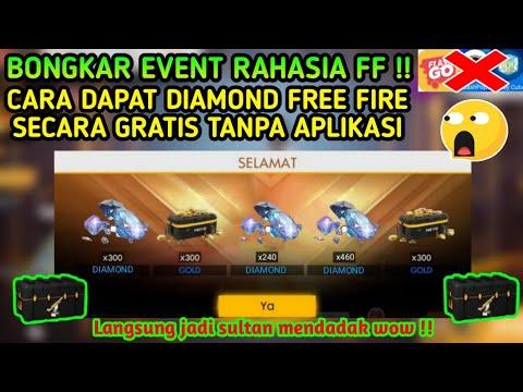 Tanpa Aplikasi Cara Mendapatkan Diamond Free Fire Secara Gratis Event Ffwc Loot Crate Gratis Youtube
