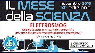 Mese della Scienza – Elettrosmog / 7 novembre 2019 [LIVE]