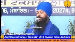 Bhai Harbaljeet Singh Ji Pipli Sahib Wale - Adutti Gurmat Sangeet Sammelan (30th Nov