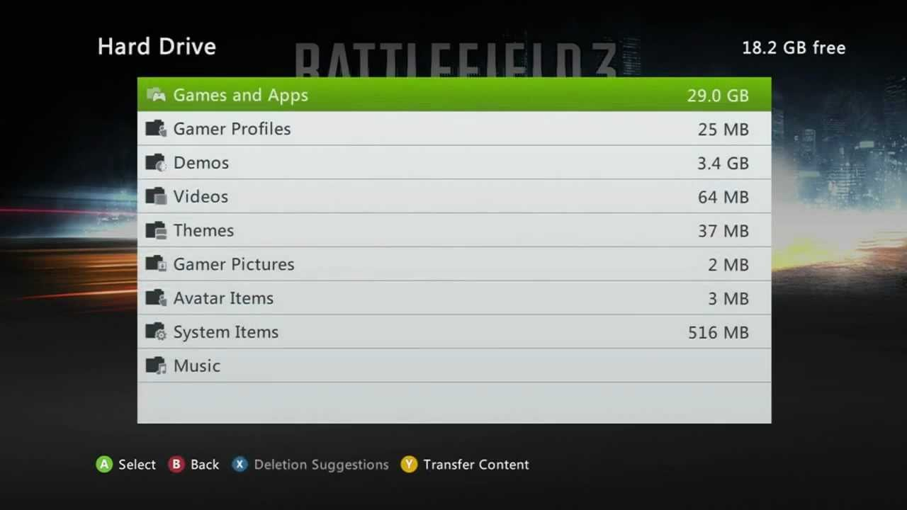 how to play ptr 4 on xbox 360