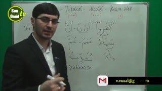 Hacı İlkin Quran Təlimi Sukun Təşdid Mədd Kiçik əlif bəhsi (Ərəb dili) yeni