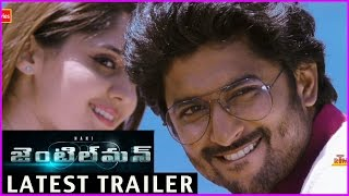 Gentleman Movie New Trailer   || Nani | Surabhi | Nivetha Thomas