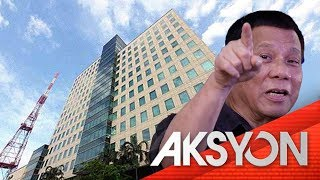 Pres. Duterte, nangakong hindi papayagan ang franchise renewal ng ABS-CBN