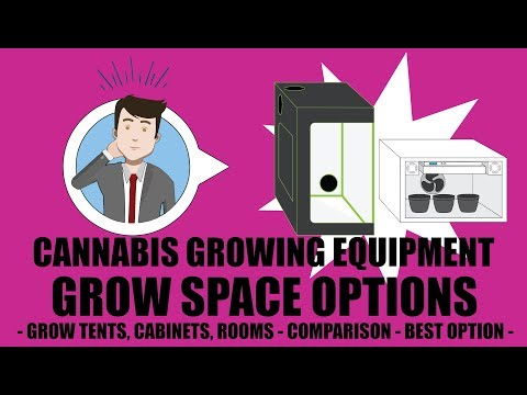 Weed Grow Operation Set Up - Grow Space Options