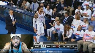 Attention NBA Refs: Steven Adams Does NOT Foul Vol. 2