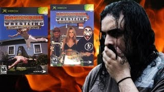 BACKYARD WRESTLING 1 & 2 XBOX REVIEW !