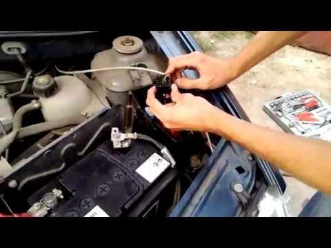 Как установить противотуманки на рено логан своими руками видео
