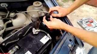 Установка ДХО и ПТФ на Dacia Renault logan