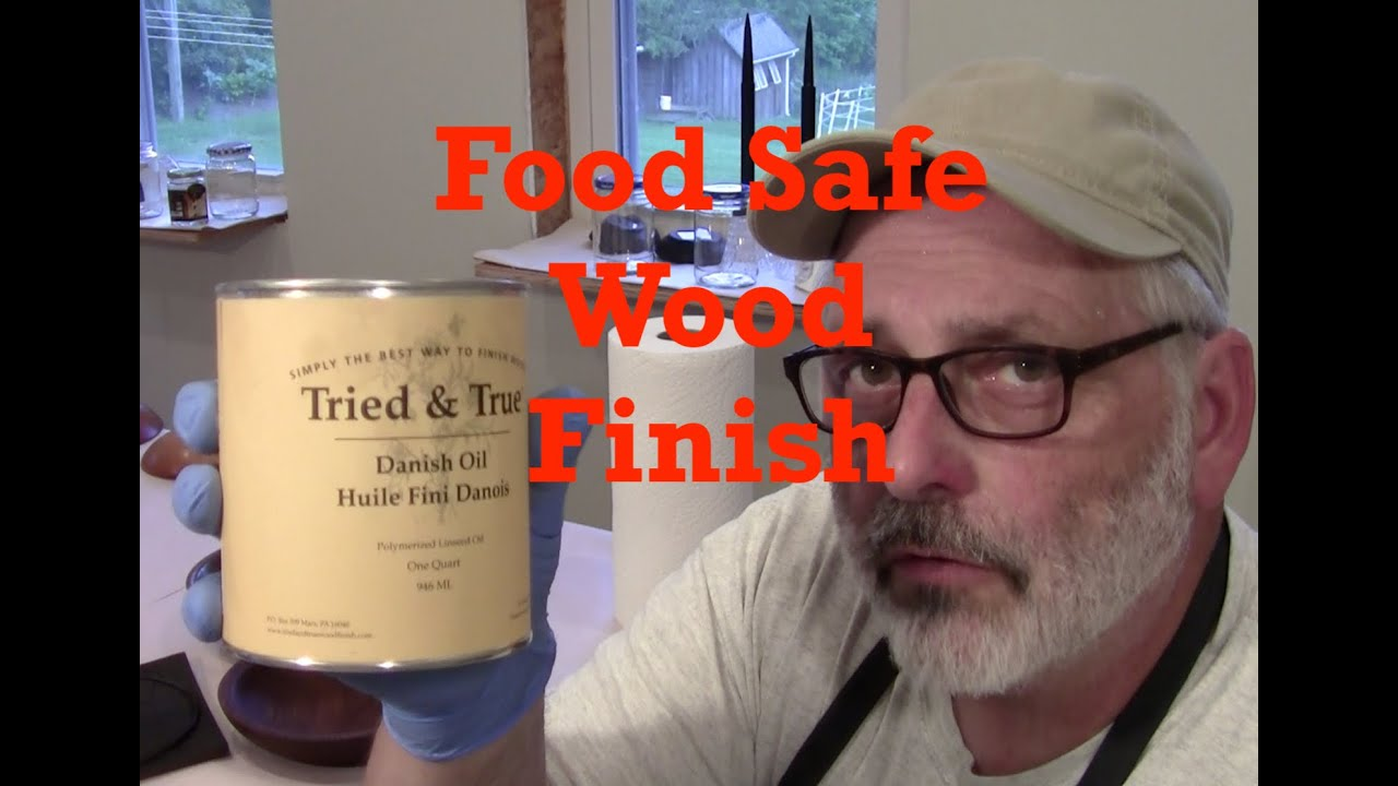Food Safe Wood Finish for Wood Bowls / Using Tried and True Oil