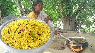 தெருவெங்கும் மணக்கும்  கோவில் புளியோதரை ஐயங்கார் புளியோதரை How To Make  Yengar Puliyodharai