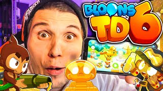 Diese AFFEN machen PALUTEN REICH! ✪ Bloons Tower Defense 6 thumbnail