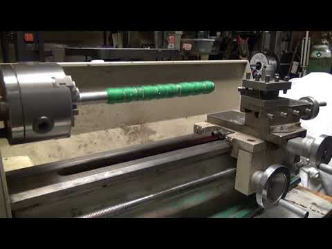 grizly G0768 lathe project making home protection club handle