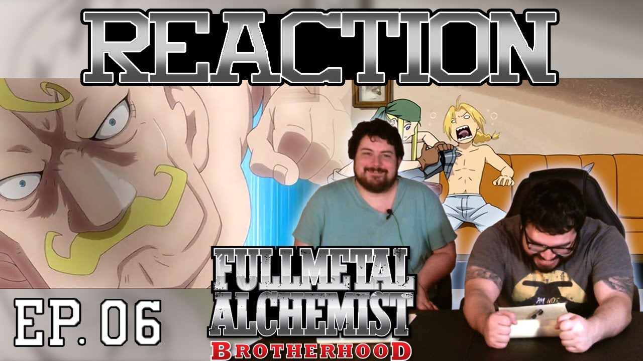 Fullmetal Alchemist Brotherhood English Dub Episode 6 ...