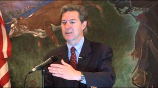 Brownback at luncheon
