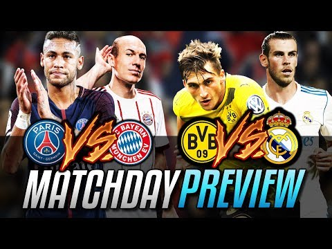 ►PSG WILL GET A REALITY SHOCK! | PSG vs Bayern | Dortmund vs Real Madrid | CHAMPIONS LEAGUE PREVIEW