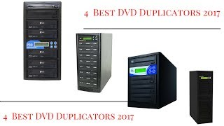 4  Best DVD Duplicators 2017