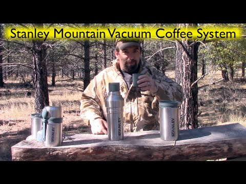 Stanley Mountain Vacuum Coffee System