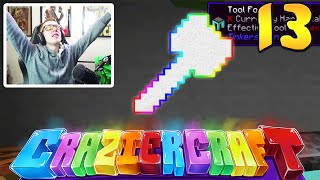 "Minecraft Crazier Craft #13 ""HAMMER TIME!"""