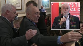 Jeremy Corbyn heckled again on the Scottish campaign trail