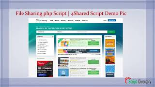 Get File Sharing php Script | 4Shared Script from PHP Script Directory