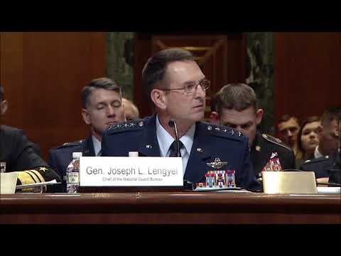 Tom Questions National Guard about Strategy on US Border