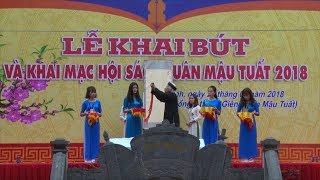 Lễ khai bút đầu Xuân tại đền thờ Thầy giáo Chu Văn An