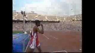Men's High Jump Final at the Bareclona 1992 Olympics