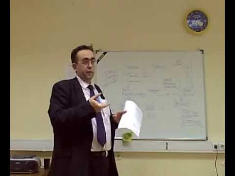 Uncle Davey lectures on Gold List System at Moscow BKC-IH
