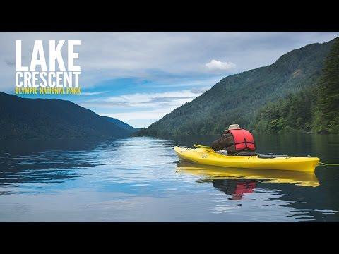 Lake Crescent Kayaking at Olympic National Park - Travel Photography