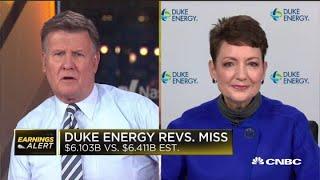 Duke Energy CEO Lynn Good On Fourth-quarter Earnings