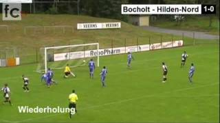 8. Spieltag: 1. FC Bocholt - SV Hilden-Nord 2:2 (2:1)