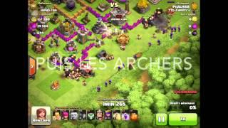 Tuto Géant Archer Barbare Clash Of Clans