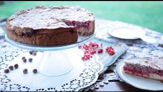 Ciasto z czerwoną porzeczką i orzechową bezą - Allrecipes.pl
