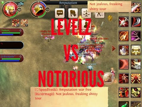 Order And Chaos Online - Levelz Vs Notorious - 28.12.2014