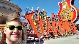 #939 ZAK BAGANS' Haunted Museum, & Neon Sign Boneyard in LAS VEGAS! - Daily Travel Vlog (3/3/19)