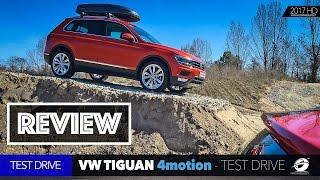 VW Tiguan 2017 4motion  TEST DRIVE + REVIEW
