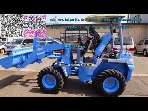 TCM 804 Wheel Loader spare parts - YouTube