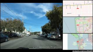 41st Avenue (San Francisco, Outer Sunset, California) to Sunset Boulevard