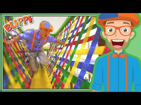 Learning with Blippi at the Play Place | Ultimate Playground